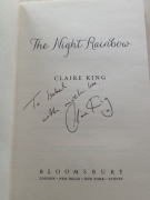 Night Rainbow signed copy